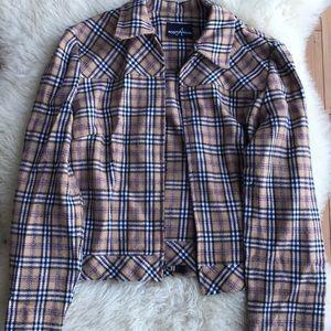 Vintage plaid jacket